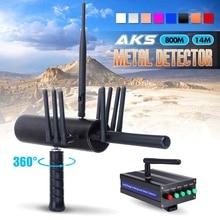 Professionale Metal Detector Sotterraneo 10x Antenna Ad Alta Sensibilità Oro Rivelatore Scavatrice su larga scala Scanner Strumenti di Prospezione