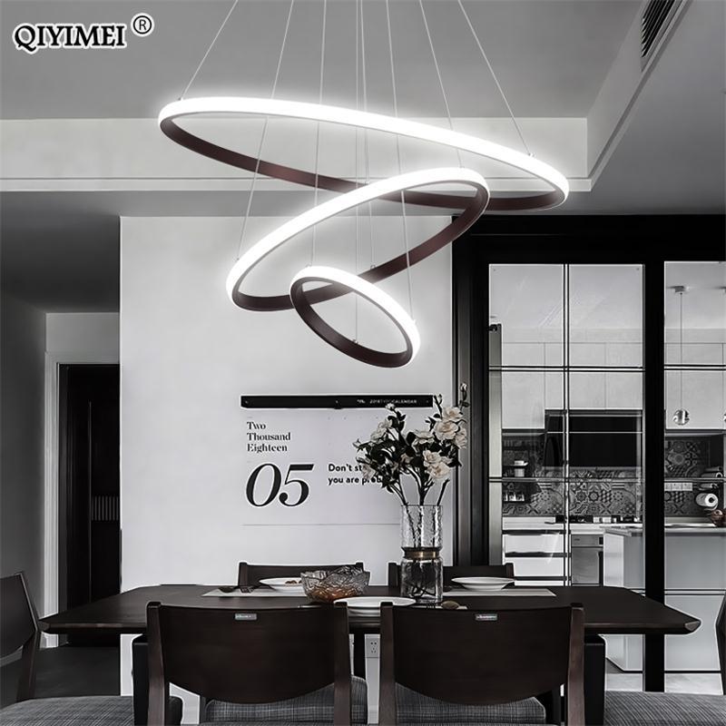 Modern Led Pendant Lights Hang Lamp
