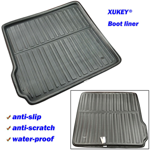 Image 2 - For BMW X5 E70 F15 2018  2017 2016 2015 2014   2007 Boot Mat Rear Trunk Liner Cargo Floor Tray Carpet Pad Protector Waterproof