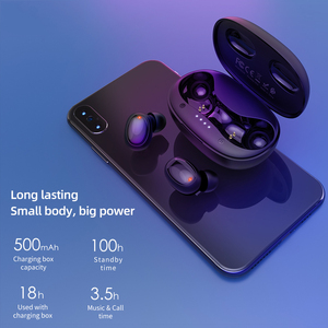 Image 3 - HOCO TWS True Touch Bluetooth Earphones HD Stereo Wireless Headphones Noise Cancelling Gaming Sport Headset 500mAh Charging Box