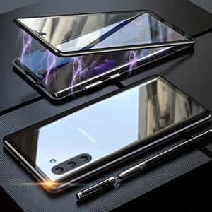 Image 5 - 360 магнитные поглощающие флип чехлы для телефонов Samsung Galaxy A51 A21s A71 A70 A30s A50, задняя крышка на Samsun A 71 A 51, Магнитный чехол