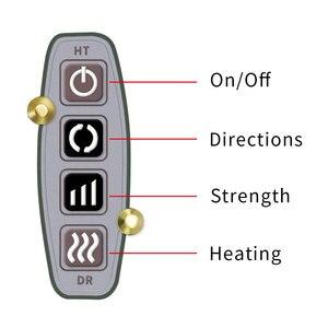 Image 5 - U 形電気指圧肩マッサージ多機能ショール赤外線加熱混練カー/ホームマッサージ
