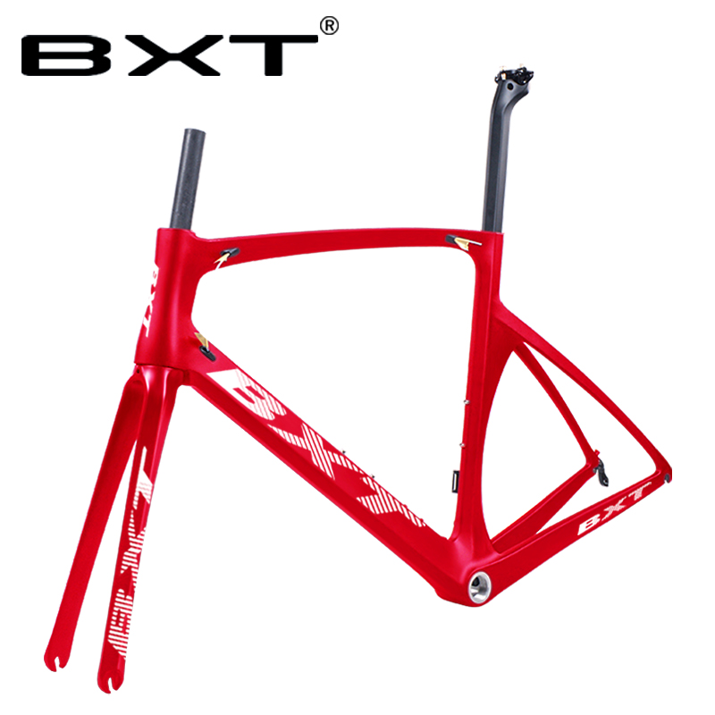 Free Shipping 2019 New 700C Carbon Road Frame BSA Bicicletas Carbon Frames Di2 Road Bicycle 49/52/54/56cm