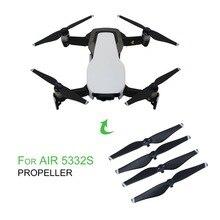 2 пар/компл. легкая по весу Простая установка быстросъемные пропеллеры Пластик CCW/CW реквизит для DJI Mavic Air Drone