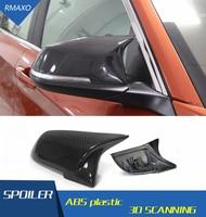Para BMW M2 Look fibra de carbono estilo de repuesto espejo lateral cubiertas para BMW M2 F22 F23