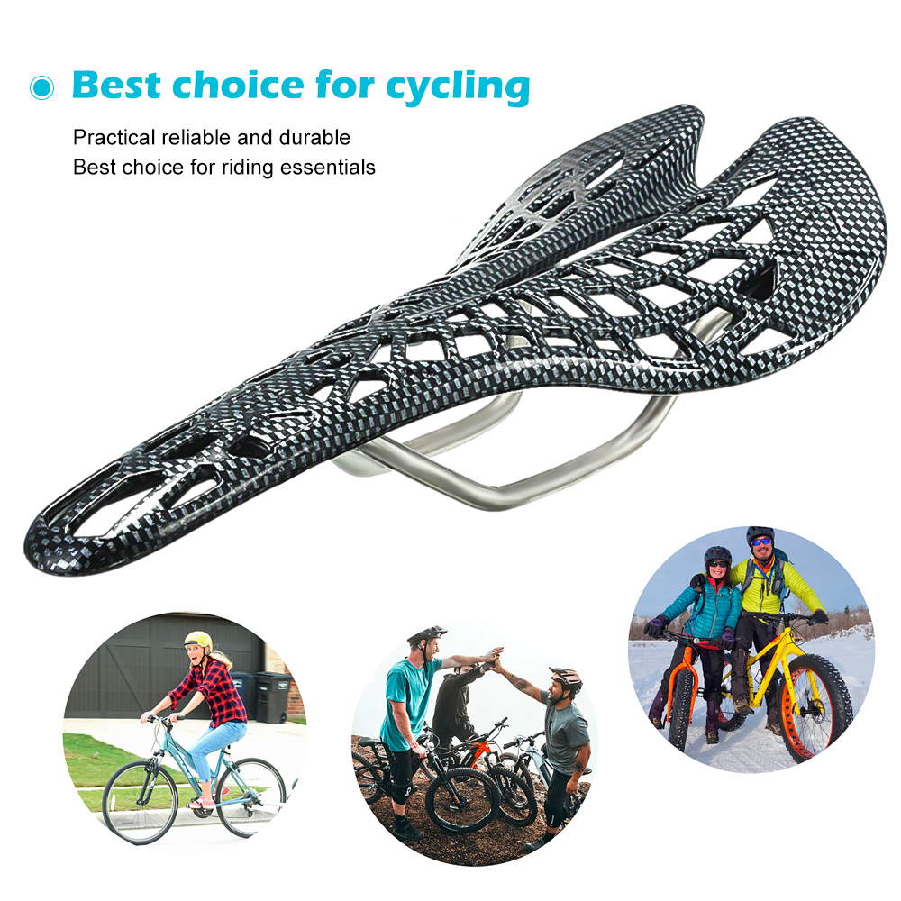 Lightweight Bike Mountain Bicycle Seat Saddle Hollow Out Spider Ergonomic Seats