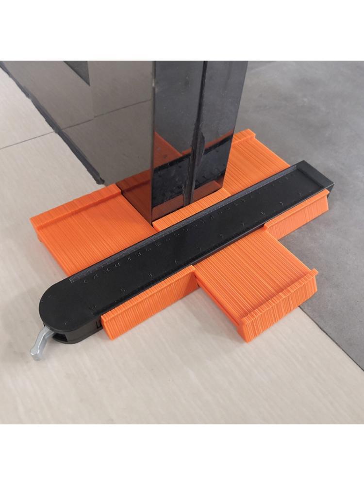 Tools : 5inch 10inch Contour Gauge Set Duplicator Tiling Laminate Tiles Template Profile Measuring Ruler