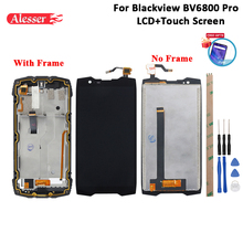 Alesser For Blackview BV6800 Pro LCD Display And Touch Screen +Frame +Film +Tools And Adhesive For Blackview BV6800 Pro 5.7