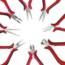Ювелирные плоскогубцы, инструменты, комплект оборудования, длинные иглы, круглый нос, кусачки для изготовления украшений вручную, аксессуары, Diy Инструменты