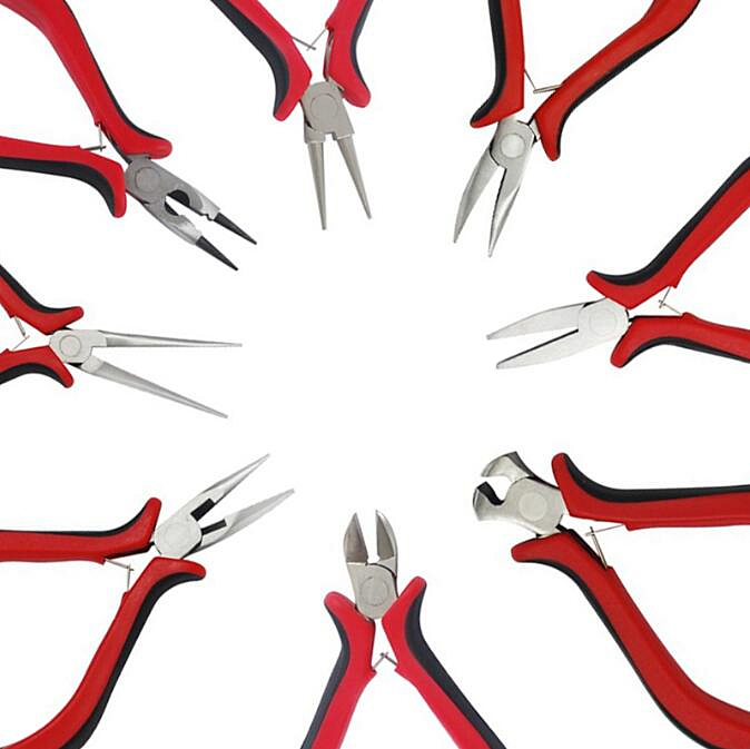Jewelry Pliers Tools Equipment Kit Long Needle Round Nose Cutting Wire Pliers For Jewelry Making Handmade Accessories Diy Tools