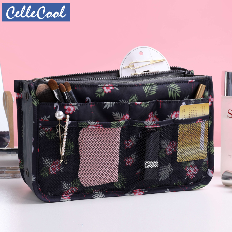 New Makeup Bag Neceseries Cosmetic Bag Small Handbag Travel Organizer Storage Bag For Toiletries Toiletry Kit