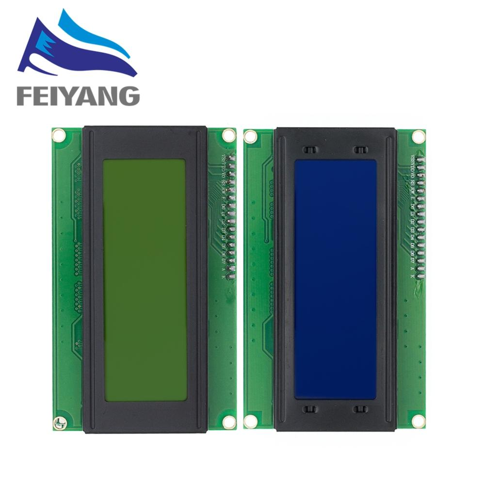1 шт. смарт электроники ЖК модуль Дисплей Монитор LCD2004 2004 20*4 20X4 5V символ синий/зеленый подсветка экрана lcd module module displaylcd module display   АлиЭкспресс