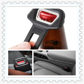 car auto seat belt buckle clip beer opener bottle buckle For BMW all series 1 2 3 4 5 6 7 X E F-series E46 E90 F09 image