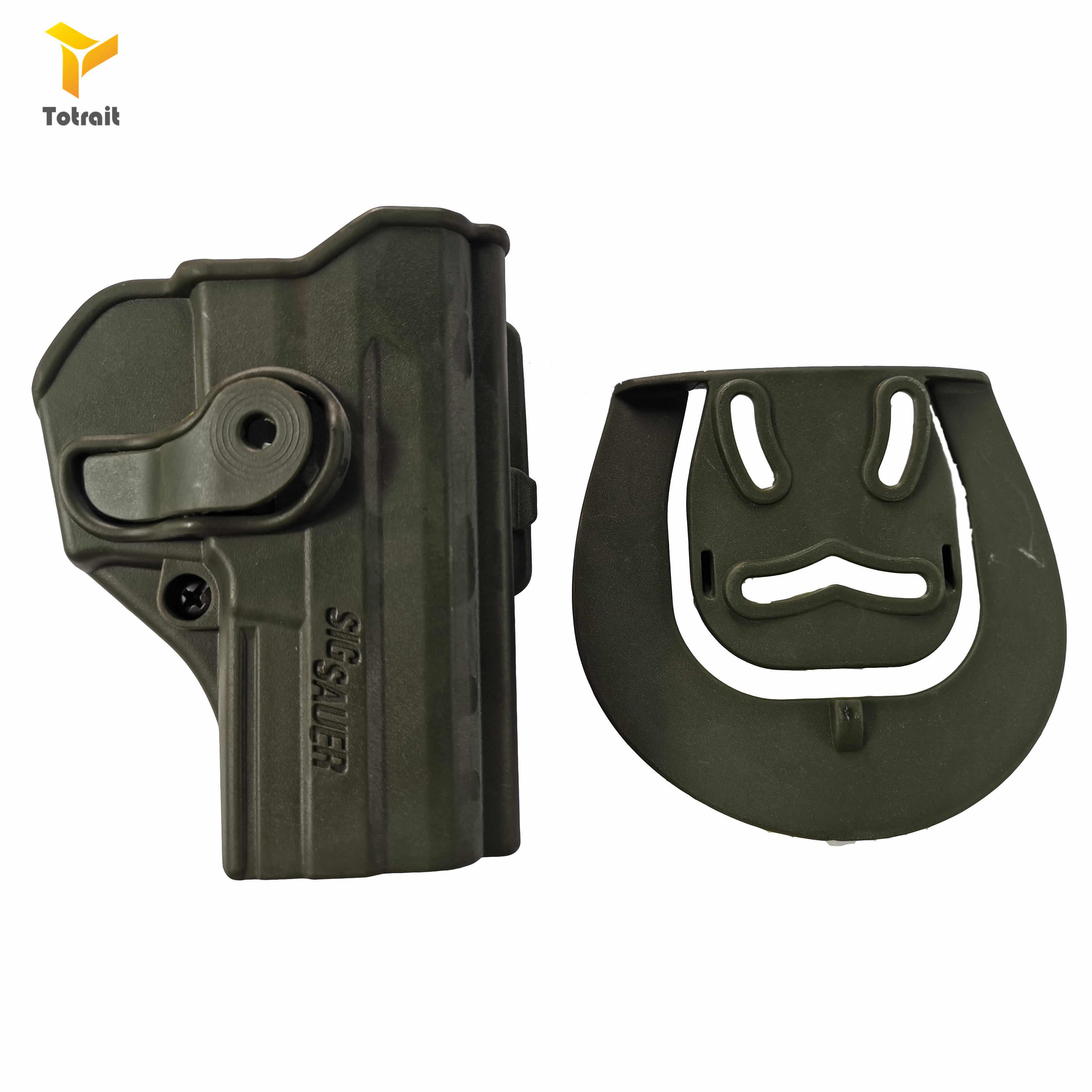 TOtrait CQC kemer tabanca kılıfı aksesuarları SIG Sauer P2022 sağ el taktik tutucu tabanca kılıfı kemer adaptörü