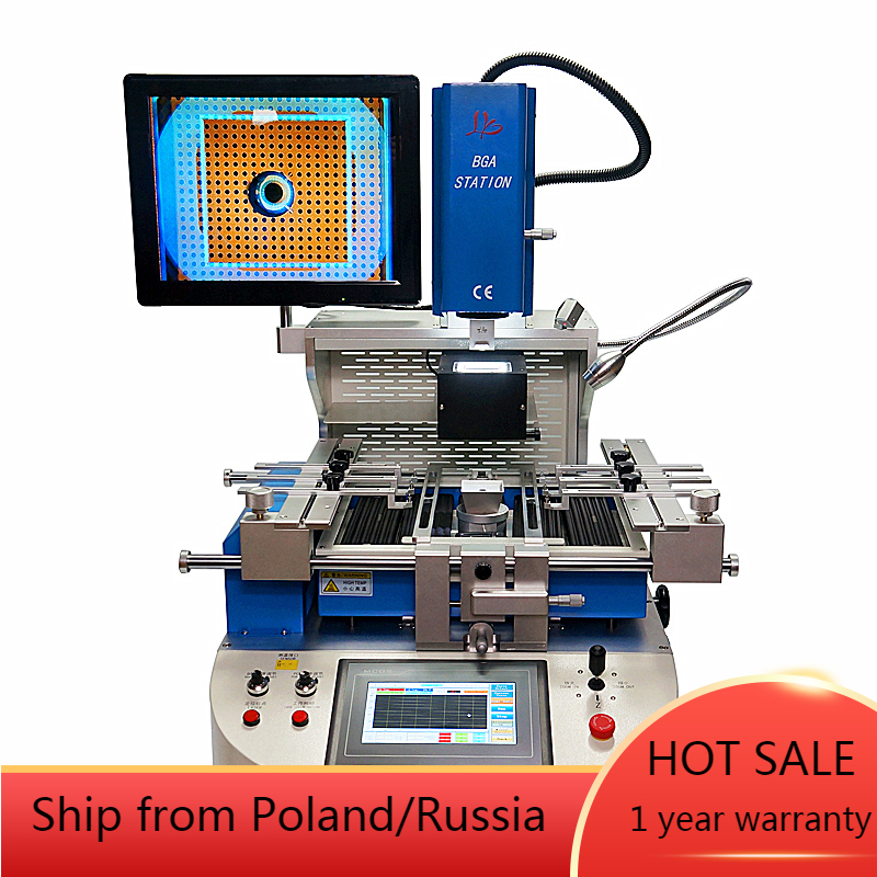 automatic align bga rework station G720 reballing machine chip repair soldering station for Laptops Game consoles