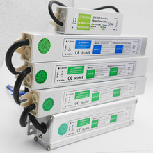 LED Transformer Power Supply Adapter DC12V/24V 10W/20W/30W/36W/50W/250W Waterproof ip67 Driver for strip light