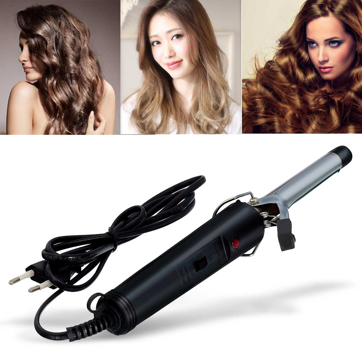 Professional Hair Curling Irons Useful Hair Salon Volume Curl Curling Iron Hair Curler Waver Maker Hair Care Styling Machine