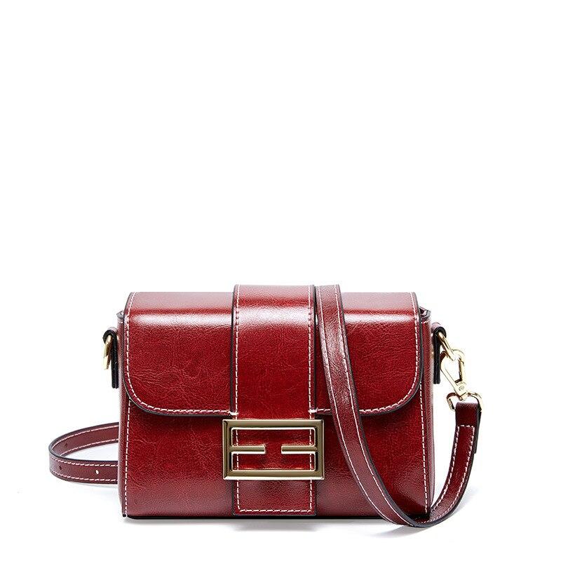 Сумки через плечо из натуральной кожи для женщин 2020 высокое качество маленькая сумка через плечо женские сумки из коровьей кожи|Сумки с ручками|   | АлиЭкспресс