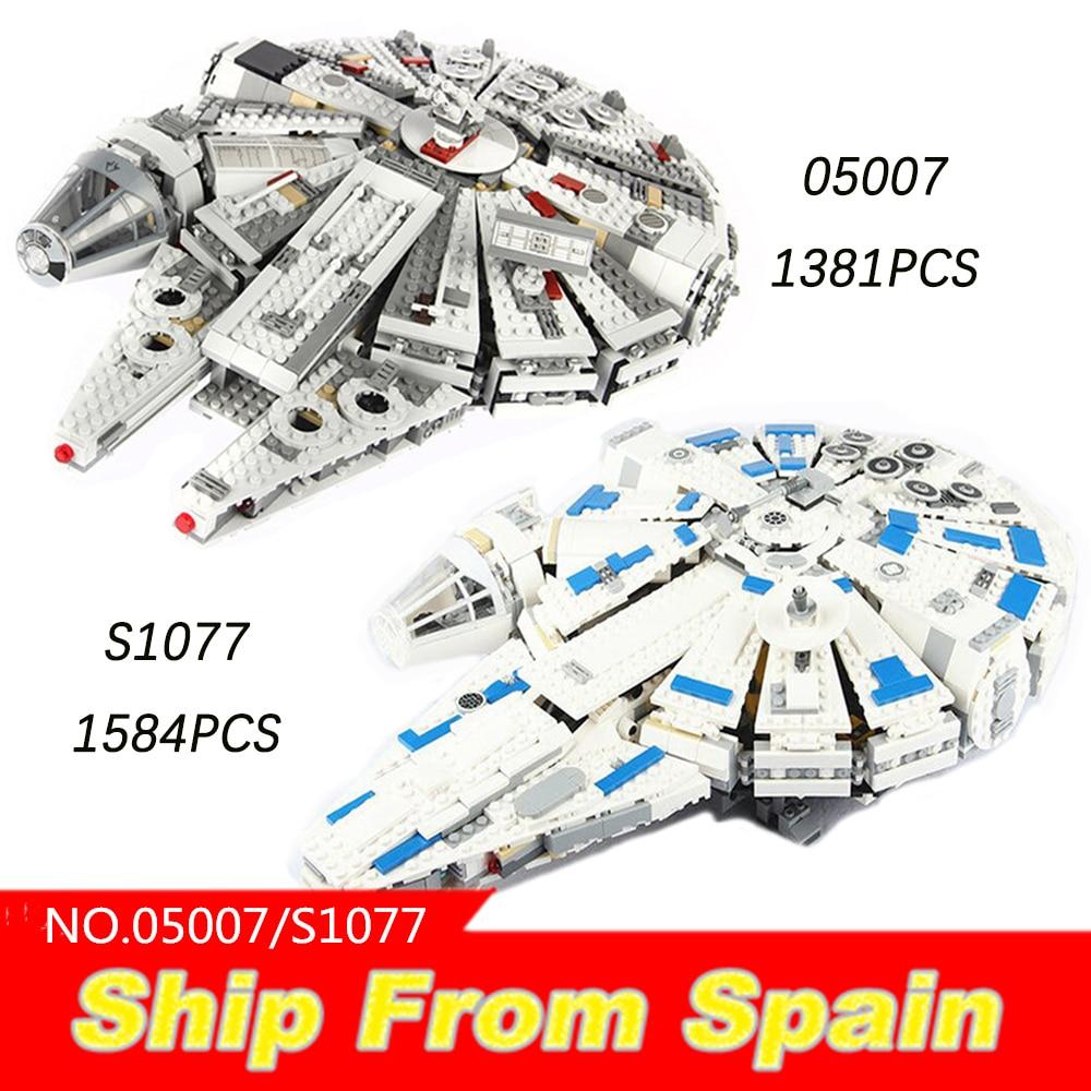 05007 05047 de star wars Bouwstenen Star Plan Oorlog 10236 75105 75212 USC Collector's Destroyer Treetop thuis Bricks speelgoed-in Blokken van Speelgoed & Hobbies op  Groep 1