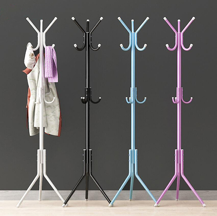 Metal Coat Rack With 12 Hooks For Handbag Purses Scarves Hats Umbrellas Storage Organizer Hanger Hook Stand