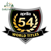 EARLFAMILY 13cm x 10,3 cm für Aprilia 54 Auto Auto Aufkleber und Aufkleber Logo Auto Styling Wasserdichte Motorrad Aufkleber dekoration