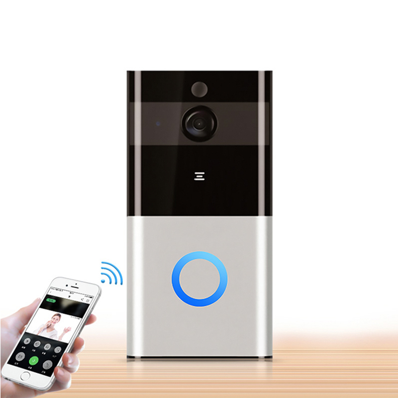 Купить с кэшбэком Alexa Google 1080P Two Way Audio Battery Powered Smart Ring Wireless Video Doorbell Camera Cloud Storage Tuya Smart Remote View