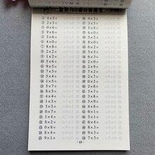 Libros Books Livros Livres Oral Arithmetic Problem Card Math Multiplication Book Mental Arithmetic Speed Calculation Exercise