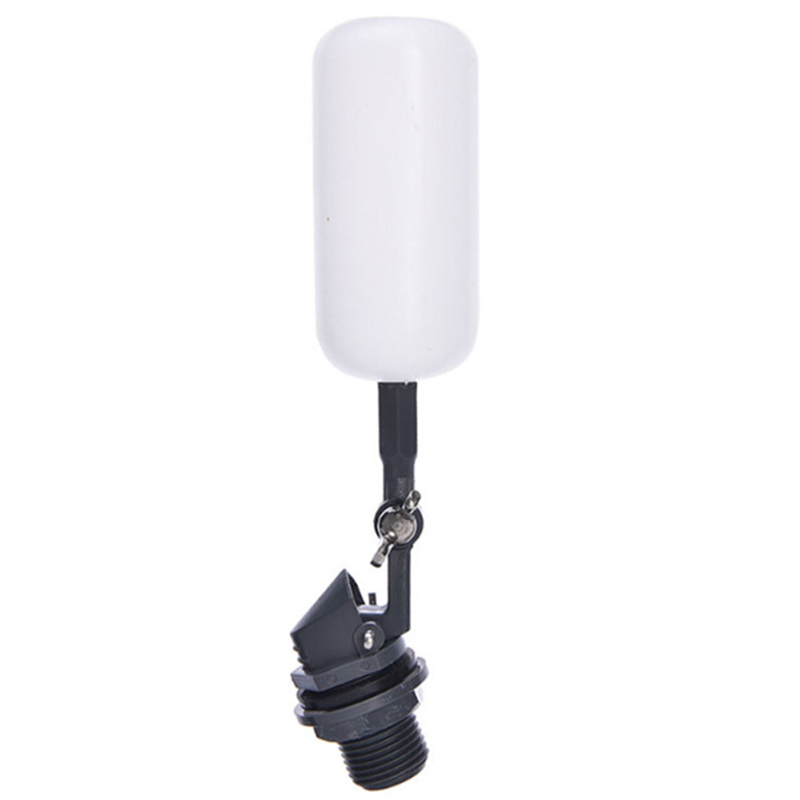 1x Adjustable Float Ball Valve Automatic Fish Tank Pond Water Level Control 1/2
