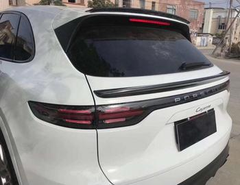 Carbon Fiber Car Rear Wing Trunk Lip Spoilers Special tail Fits For Porsche Cayenne 2018 2019 2020