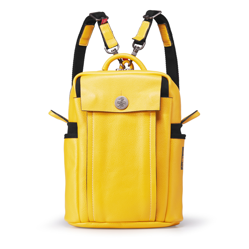 Orabird luxe femmes sac à dos 100% doux en cuir véritable grande capacité décontracté ville voyage sac de haute qualité filles jaune sac à dos