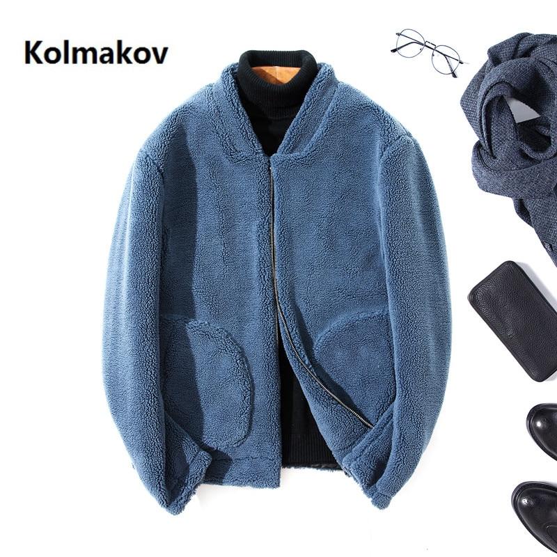2020 Winter coat Men's high quality trench coat Men's casual zipper jacket Granular velvet woolen coats men overcoat