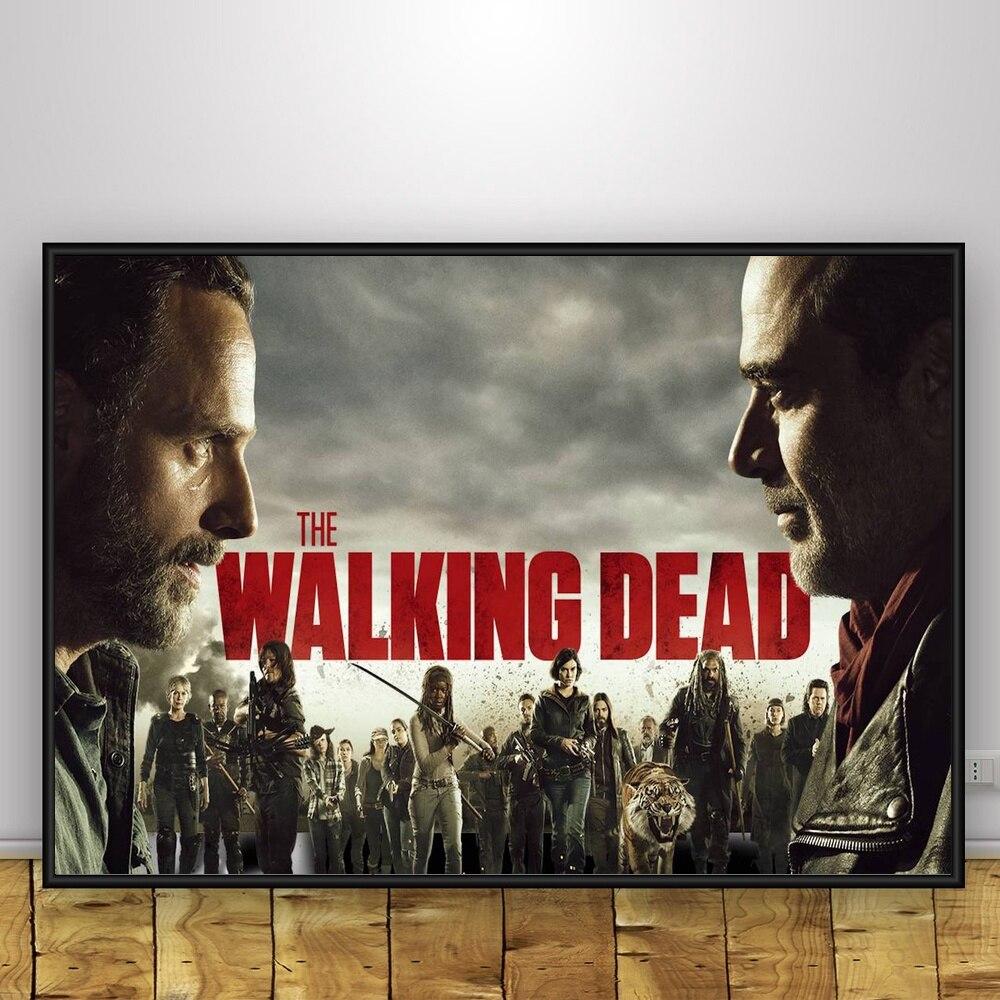 The-Walking-Dead-Art-Silk-Poster-Home-Decor-12x18-24x36inch (3)