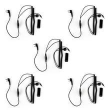 Artudatech 5Pcs 2Pin Intercom Cable For Vimoto V5S V3 V6 V8 Motocross Helmet Headset