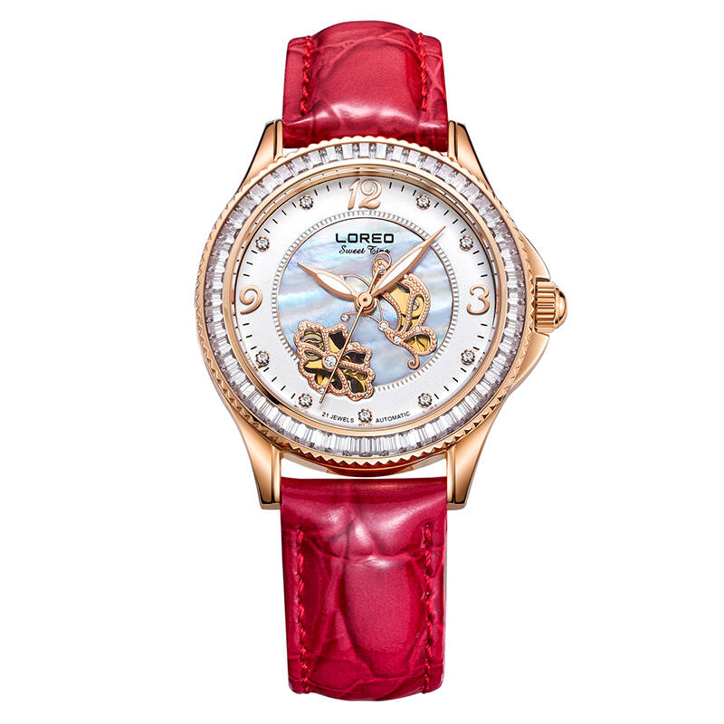 LOREO 1108 Germany watches luxury brand Women's Watches Simulated Ceramic Bracelet relogios femininos Mechanical Wristwatches|Women's Watches|Watches - title=
