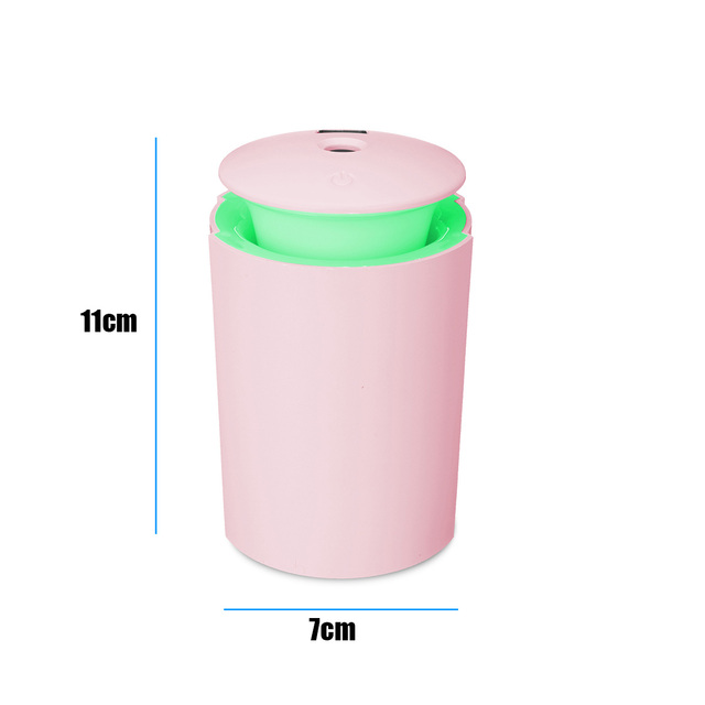 Mini Air Humidifier For Home USB Bottle Aroma Diffuser LED Backlight For Office Mist Maker Refresher Humidification Gift