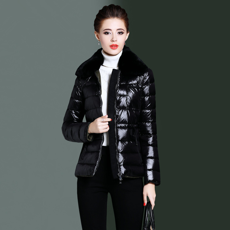 Down Women's Jacket Winter Jacket Women Fur Collar Korean Jackets For Women Clothes 2020 Down Coat Chaqueta Mujer MY3895 S