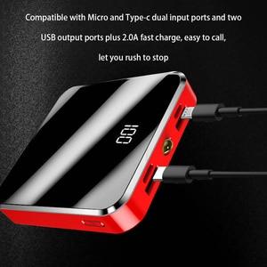 Image 4 - Mini Power Bank 20000MAhสำหรับXiaomi Mi 9 Powerbankชาร์จแบบพกพาMini Dual USB Fastชาร์จPoverbankสำหรับiPhone 11 8 7 Plus