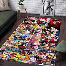 Anime Carpet Rug Camping-Mat Bathroom One-Piece Outdoor Fashion Home Christmas-Gift Travel