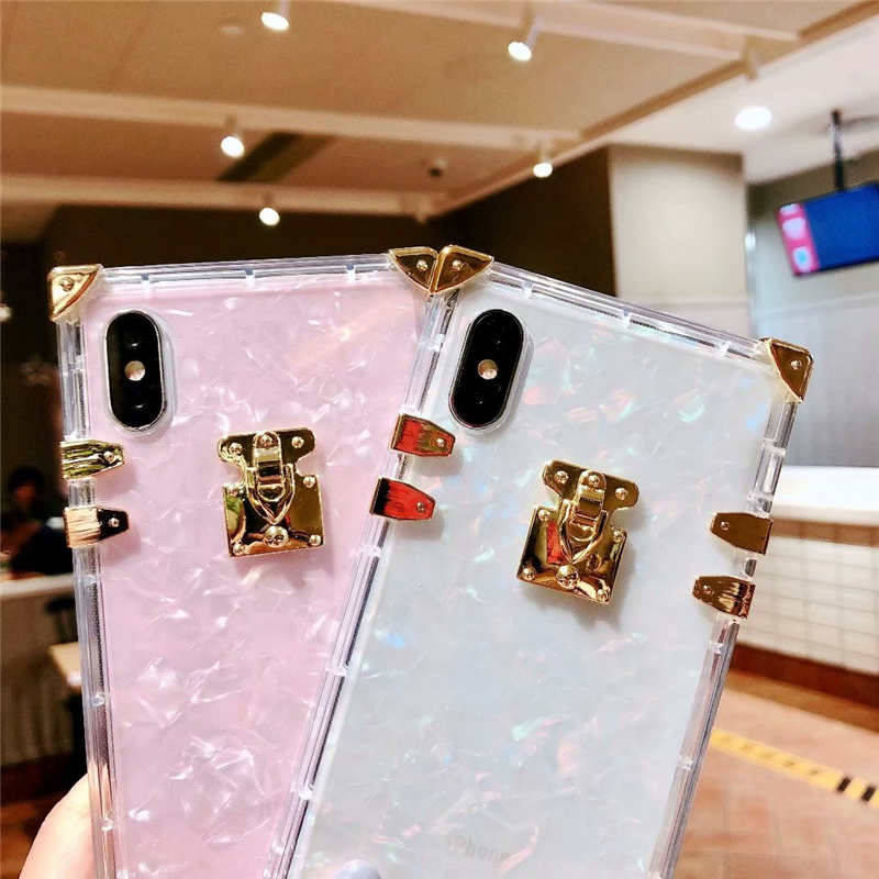 Hdfef2abfea8749e78c81a7763acf0209t - Luxury Square Clear TPU Case For iPhone 11 Pro Max Soft Silicone Bling Phone Cover For iPhone X XS Max XR For iPhone 6 7 8 Plus