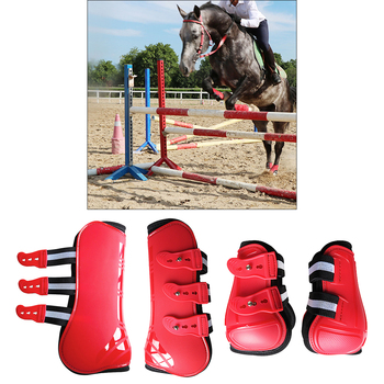 Tendon Boots Fit Snuggly For Your Horses Protection  11