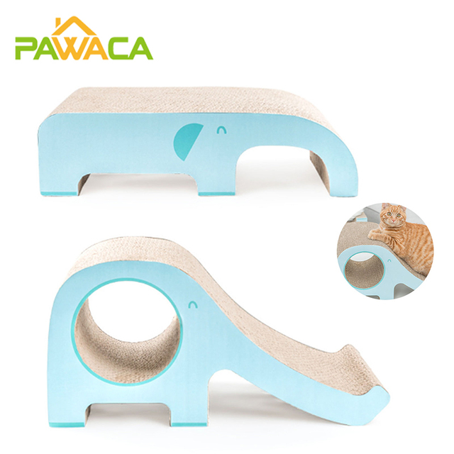 Cat Scratcher Sofa Furniture Scratching Protection Beds and House Climbing With a Corrugated Bridges Claw Accessories for Cats 1