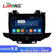 LJHANG автомобильный dvd-плеер Android 9,0 Для CHEVROLET TRAX gps Navi 1 Din автомобильный радио мультимедиа wifi стерео головное устройство аудио оперативная память 4 Гб