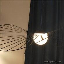 Nordic Modern Pendant Lights Denmark Iron Pendant Lamp Bedroom Dining Room Restaurant Hanging Lights Living Room Decor Fixtures