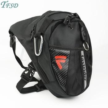 Bolsa de motocicleta para exteriores, bolsillo de ocio, bolsa anticaída para pierna, nailon, impermeable, bolsillo para mini bolsa, venta al por mayor para Hyosung Triumph Benenlli