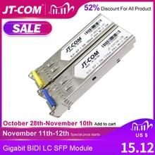 1Gb LC SFP Module single fiber Optical Transceiver Gigabit  Fiber sfp switch module 3 80km Compatible with Mikrotik/Cisco switch
