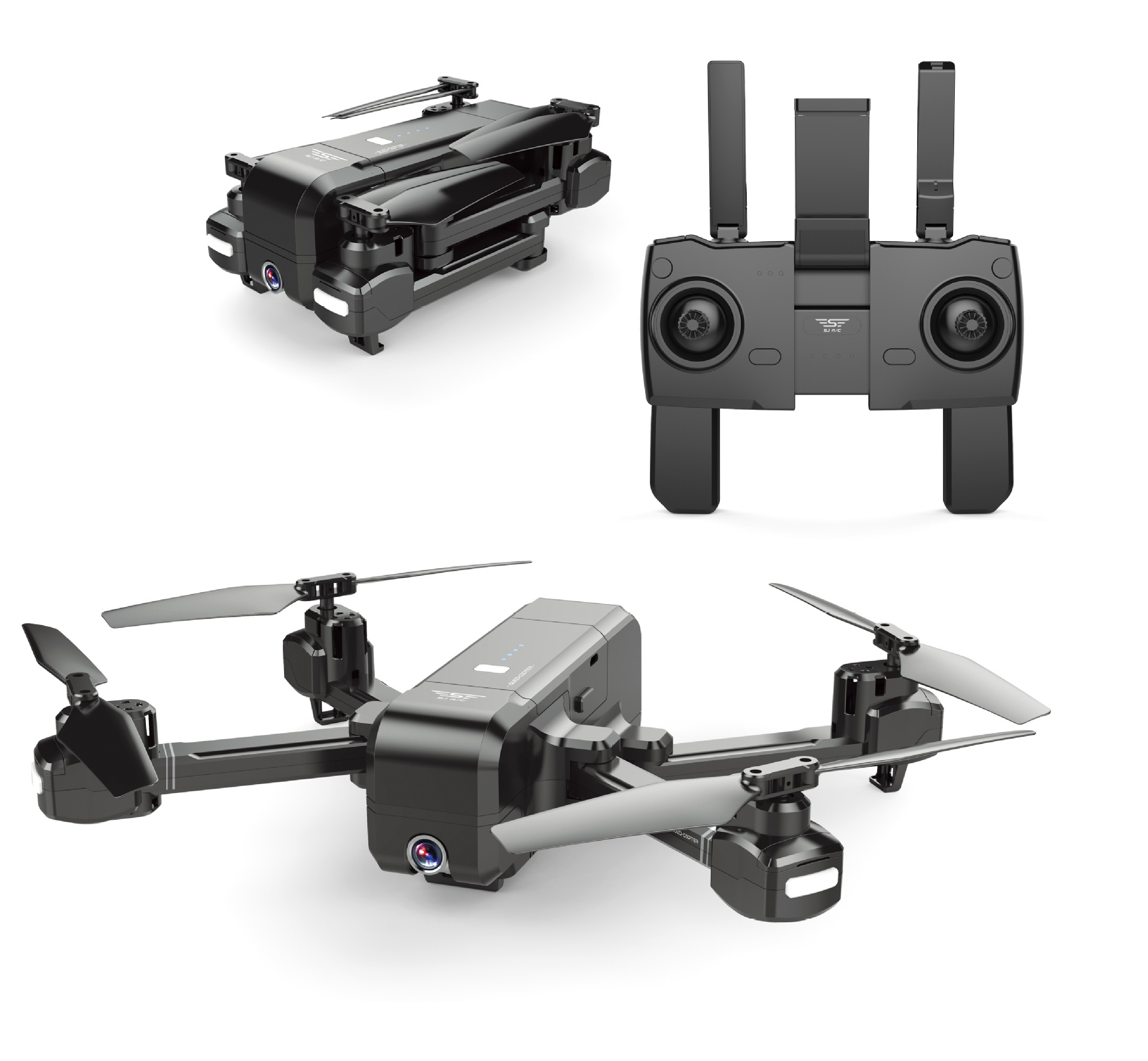 Folding Transformation Unmanned Aerial Vehicle Remote Control Aircraft High-definition Aerial Photography Gesture Identification