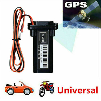 GPS Tracker Waterproof Built-in Battery GSM Mini for Car motorcycle cheap vehicle tracking device online software and APP image
