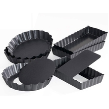 Cheesecake Molds Tart Mini Removable Pie Nonstick Quiche Loose-Bottom Heavy-Duty 6-Pack