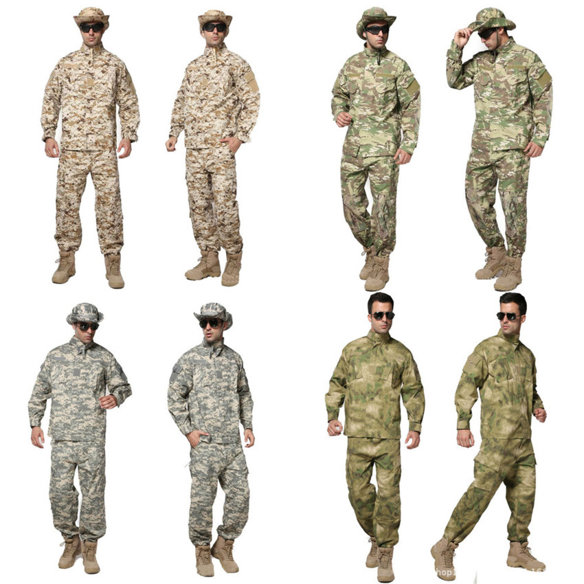 10Color News Men Militar Uniform Army Tactical Military Soldier Outdoor Combat ACU Camouflage Special Clothes Pant Maxi XS~2XL