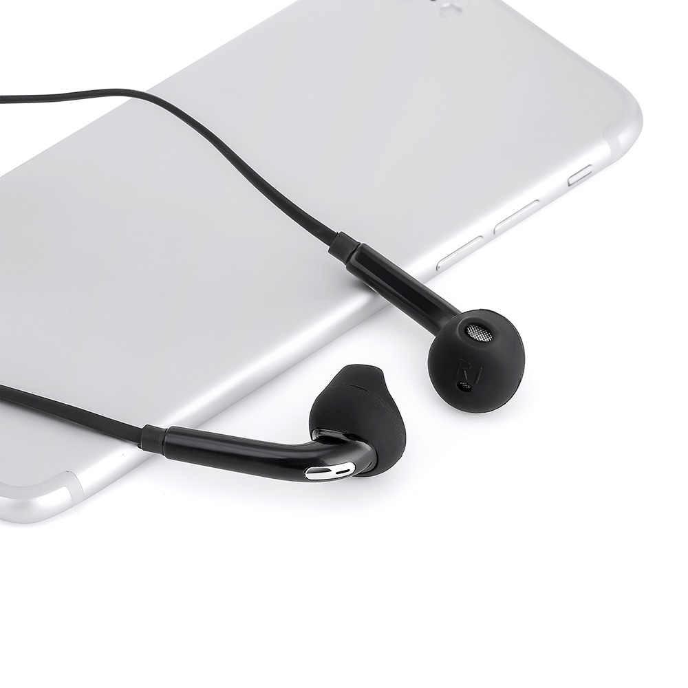 سماعة أذن سلكية 3.5 مللي متر ستيريو لا سماعة رأس مزودة بتقنية البلوتوث في الأذن الموسيقى الرياضة سماعة مع mi crophone لسامسونج شياو mi mi 9 هواوي
